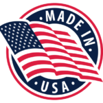 Made In America Logo to showcase Security2Go is made in the United States of America